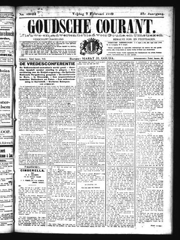Goudsche Courant 1919-02-07