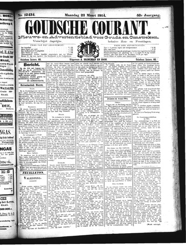 Goudsche Courant 1914-03-23