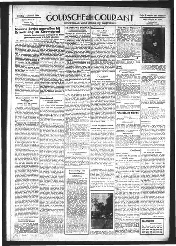 Goudsche Courant 1944-01-07