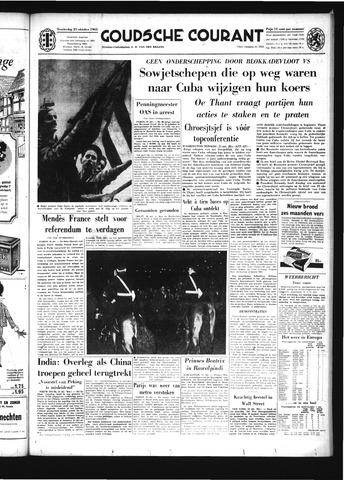 Goudsche Courant 1962-10-25