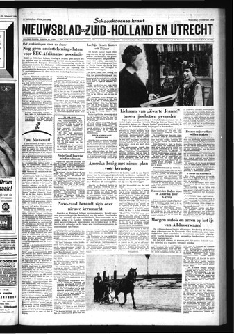Schoonhovensche Courant 1963-02-27