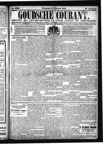 Goudsche Courant 1923-02-21