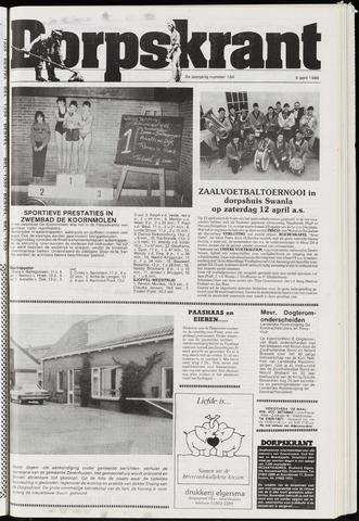 Dorpskrant 1986-04-09