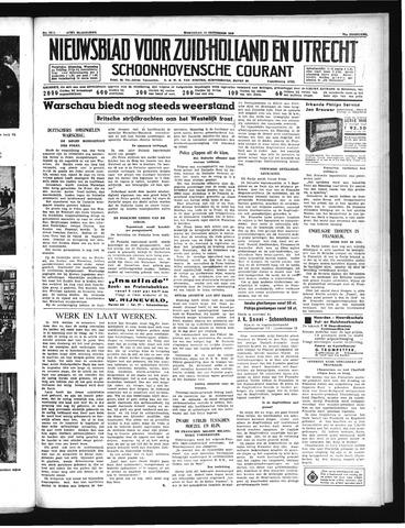 Schoonhovensche Courant 1939-09-13