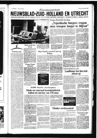 Schoonhovensche Courant 1968-09-06