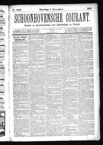 Schoonhovensche Courant 1913-11-08
