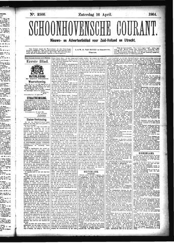 Schoonhovensche Courant 1904-04-16