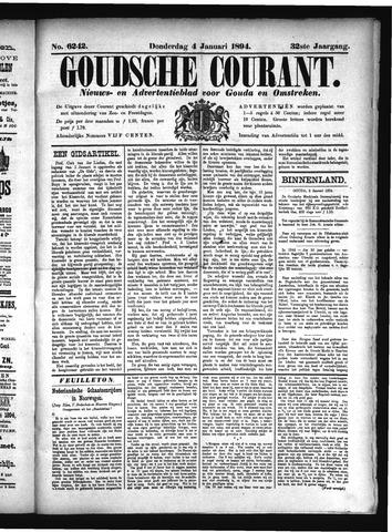 Goudsche Courant 1894-01-04