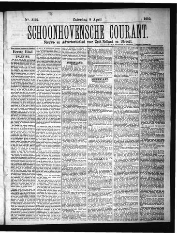 Schoonhovensche Courant 1910-04-09