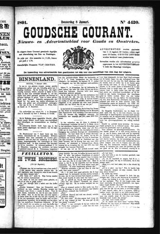 Goudsche Courant 1891-01-08