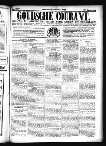 Goudsche Courant 1930-10-09