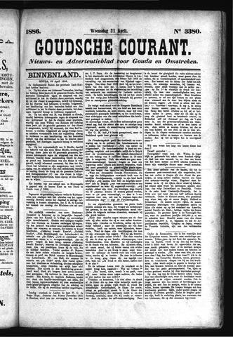 Goudsche Courant 1886-04-21