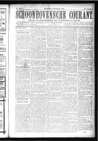 Schoonhovensche Courant 1922-11-08