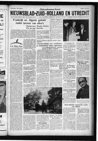 Schoonhovensche Courant 1961-04-07