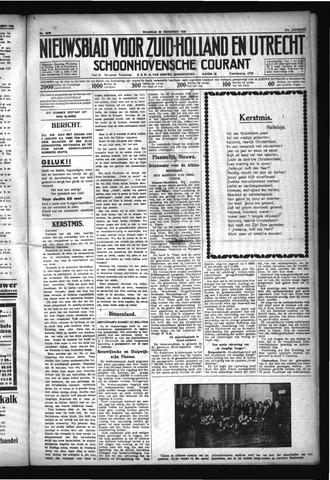 Schoonhovensche Courant 1929-12-23