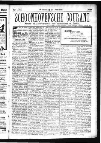 Schoonhovensche Courant 1920-01-14