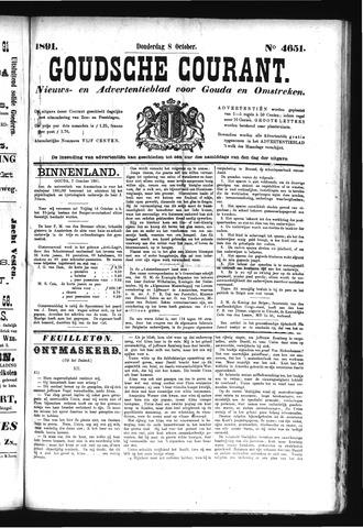 Goudsche Courant 1891-10-08