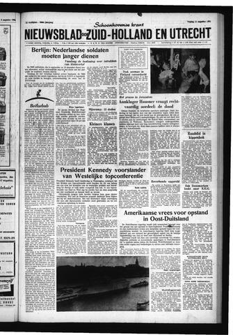 Schoonhovensche Courant 1961-08-11