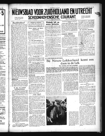 Schoonhovensche Courant 1949-06-15