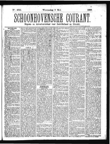 Schoonhovensche Courant 1906-05-09
