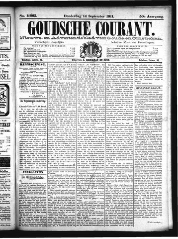 Goudsche Courant 1911-09-14
