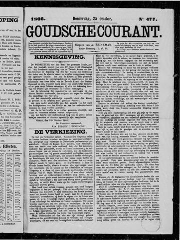 Goudsche Courant 1866-10-25
