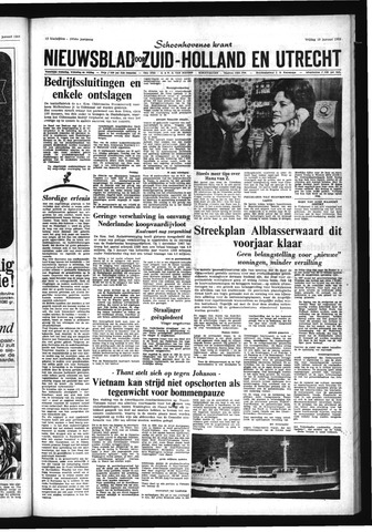 Schoonhovensche Courant 1968-01-19