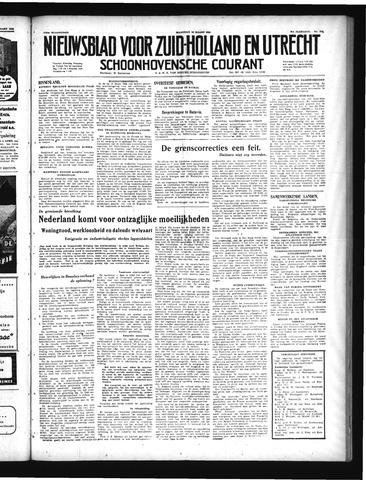 Schoonhovensche Courant 1949-03-28