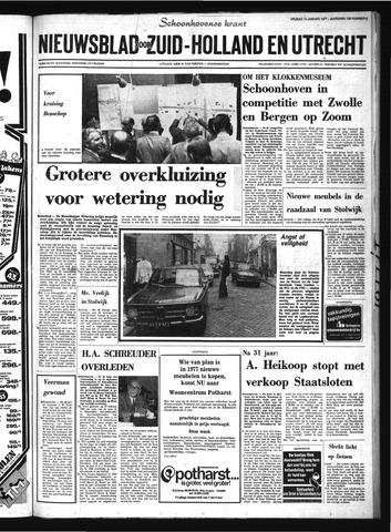 Schoonhovensche Courant 1977-01-14