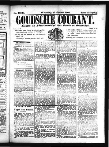 Goudsche Courant 1907-01-23