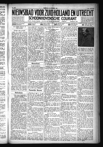 Schoonhovensche Courant 1929-11-20