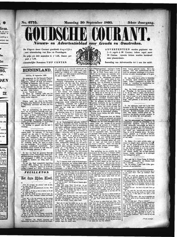 Goudsche Courant 1895-09-30