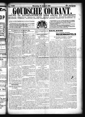 Goudsche Courant 1931-01-19