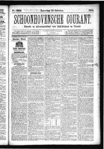 Schoonhovensche Courant 1912-10-12