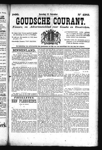 Goudsche Courant 1890-11-22