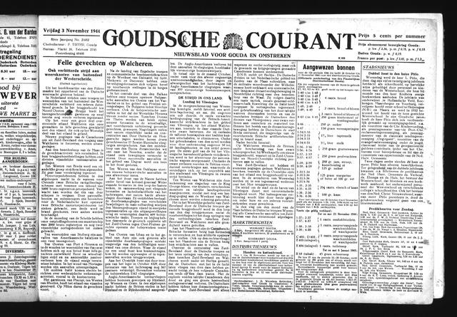 Goudsche Courant 1944-11-03