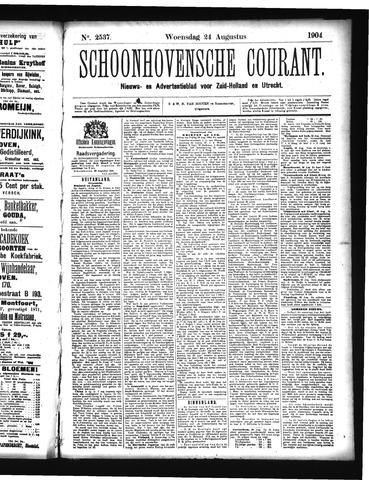 Schoonhovensche Courant 1904-08-24