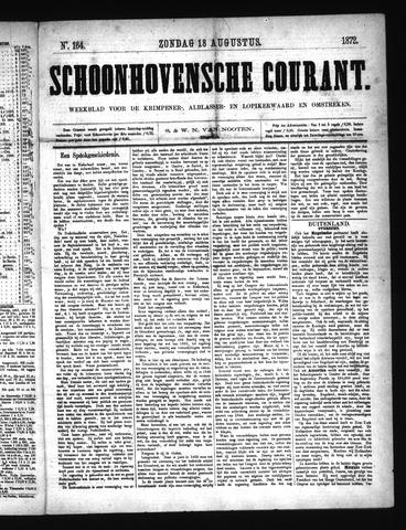 Schoonhovensche Courant 1872-08-18