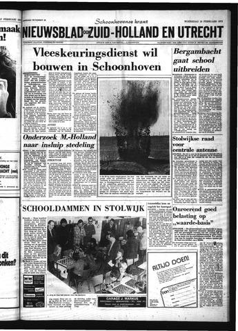 Schoonhovensche Courant 1975-02-19