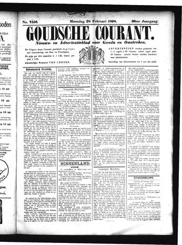 Goudsche Courant 1898-02-28