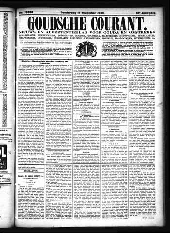 Goudsche Courant 1925-11-19