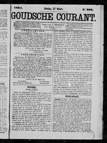 Goudsche Courant 1864-03-27