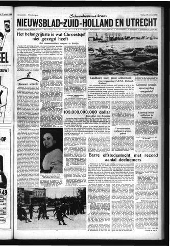 Schoonhovensche Courant 1963-01-18