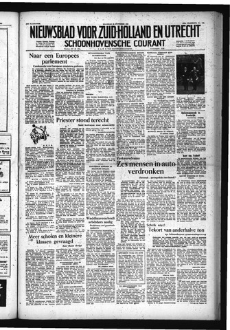 Schoonhovensche Courant 1953-11-30