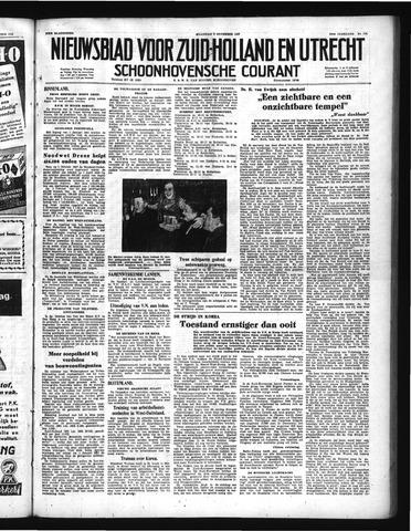 Schoonhovensche Courant 1950-11-06