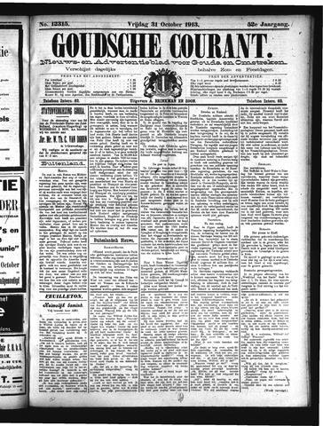 Goudsche Courant 1913-10-31