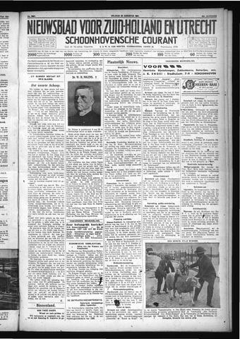 Schoonhovensche Courant 1931-08-28