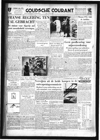 Goudsche Courant 1957-10-01