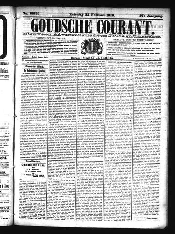 Goudsche Courant 1919-02-22