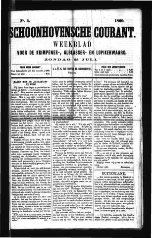 Schoonhovensche Courant 1869-07-25